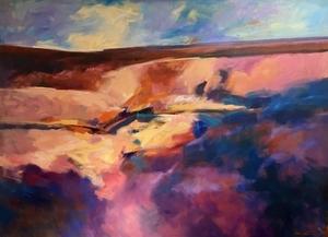 Eva CARTER - Painting - Highway Series