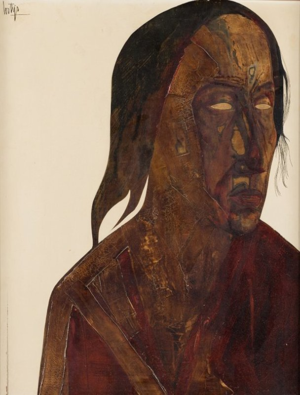 Francisco CORTIJO - Painting - Rostro
