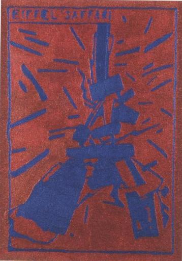 Aldo MONDINO - Pintura - Eiffel Saffari