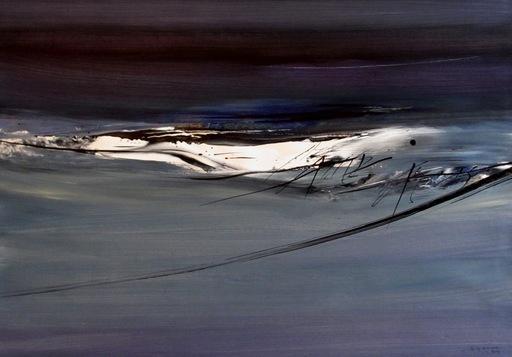 Julius BALTAZAR - Drawing-Watercolor - Sans titre