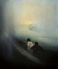 Eric LEPOUREAU - Peinture - Sans titre. Ref : 13/022/38