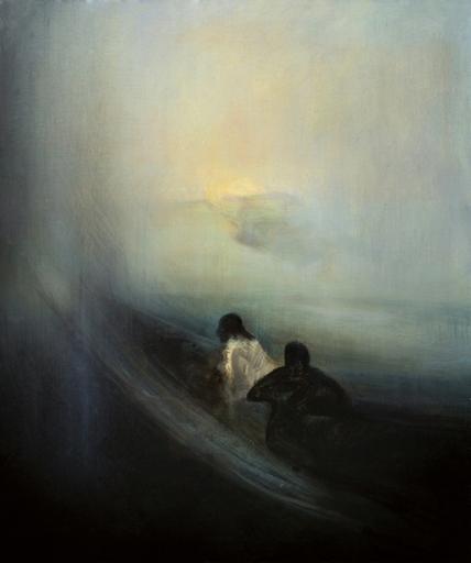 Eric LEPOUREAU - Pittura - Sans titre. Ref : 13/022/38
