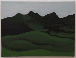 Albrecht SCHNIDER - Painting - Landscape