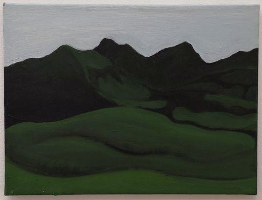 Albrecht SCHNIDER - Pittura - Landscape