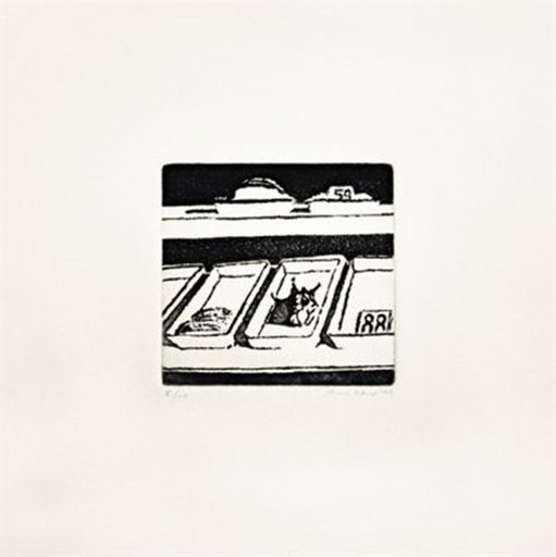 Morton Wayne THIEBAUD - Print-Multiple - Delicatessen Trays