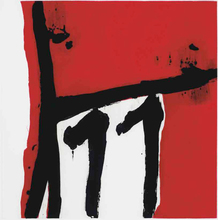Robert MOTHERWELL (1915-1991) - Mexican Night II