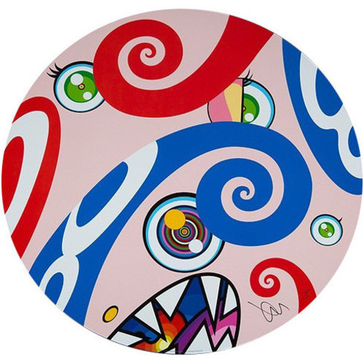 Takashi MURAKAMI - Estampe-Multiple - We are the Jocular Clan #9