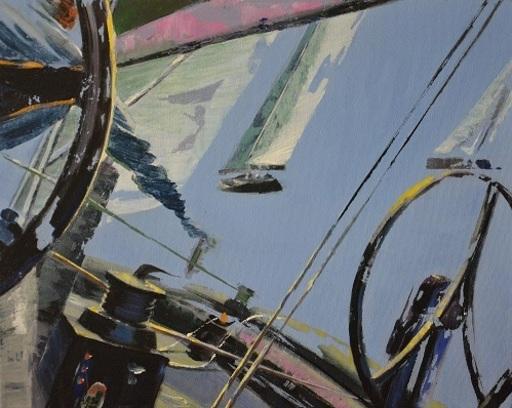 Diana KIROVA - Painting - In passo