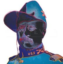 安迪·沃霍尔 - 版画 - Teddy Roosevelt (FS II.386)