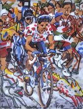 François BOISROND - Painting - la chasse à courre