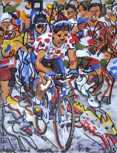 François BOISROND - Pintura - la chasse à courre