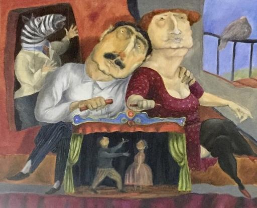 Pino PROCOPIO - Peinture - Teatrino