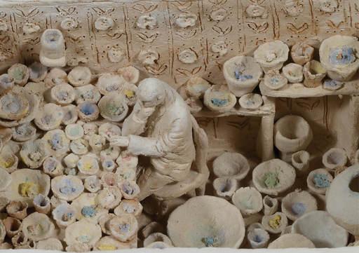 Pino DEODATO - 陶瓷  - Il recinto
