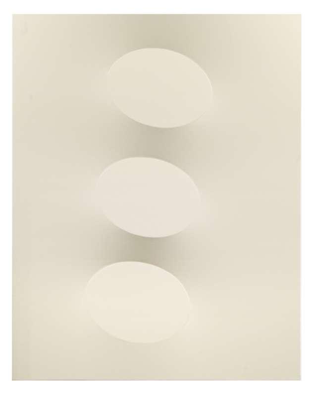 Turi SIMETI - Peinture - 3 ovali beige