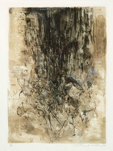 ZAO Wou-Ki - Print-Multiple - Composition