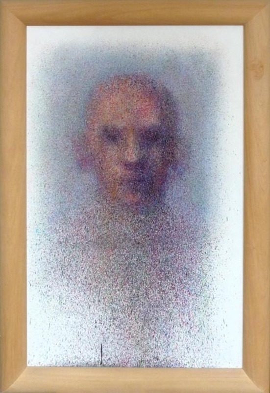 Jean FAUCHEUR - Painting - ''Autoportrait''
