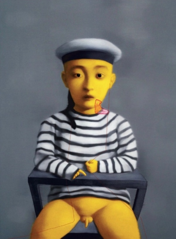ZHANG Xiaogang - Estampe-Multiple - Little Navy