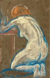 Edvard MUNCH, Akt med rødhåret Pige