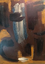 Gérard SCHNEIDER - Pintura - Composition