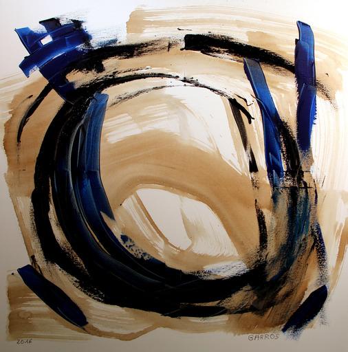 """François GARROS - Painting - """"la mémoire enroulée"""""""