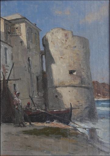 François BOCION - Gemälde - Antibes