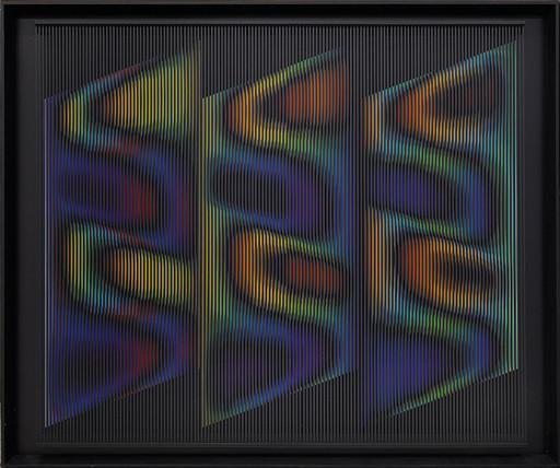 Alberto BIASI - Pittura - Forme del vento… di notte