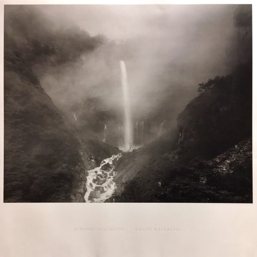 Hiroshi SUGIMOTO - Fotografia - Kegon Falls
