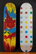 Damien HIRST - Sculpture-Volume - Spot Skate Deck