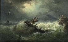 Nicholaas RIEGEN - Pintura - Stormy Weather