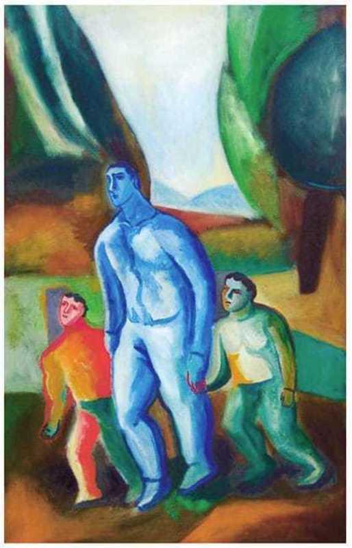 Sandro CHIA - Print-Multiple - Padre e Figli
