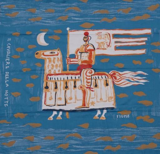 Salvatore FIUME - Tapestry - Il cavaliere della notte