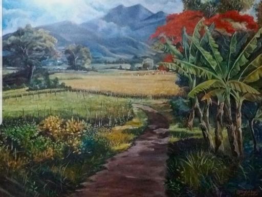 R.U. SUBAGIO - Painting - Mountain of Thunder