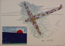 Franco ANGELI - Grabado - Volo xz°/123