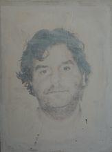 Philippe PASQUA - Peinture - Self-portrait in smoke