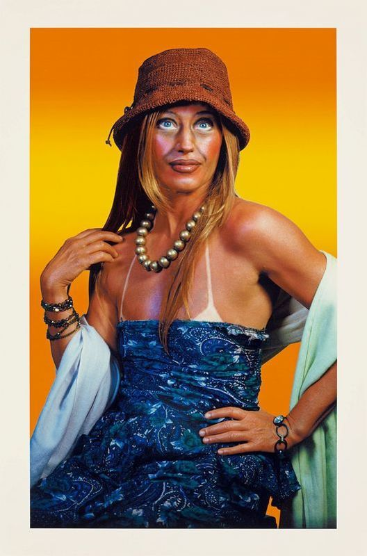 Cindy SHERMAN - Fotografia - Untitled (Self-Portrait with Sun Tan)