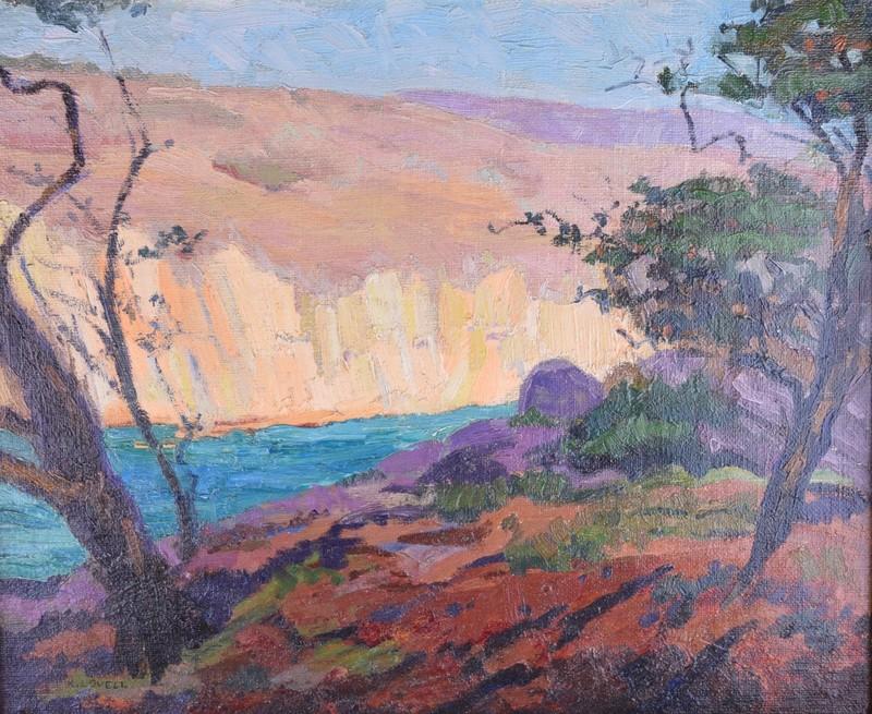 Katherine Adams LOVELL - Painting - Brooklyn, N.Y