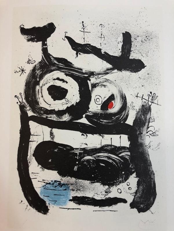 Joan MIRO - Print-Multiple - La Emperatriz