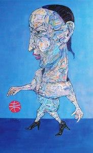 TANG Hai Guo - Peinture - City Dweller No.1