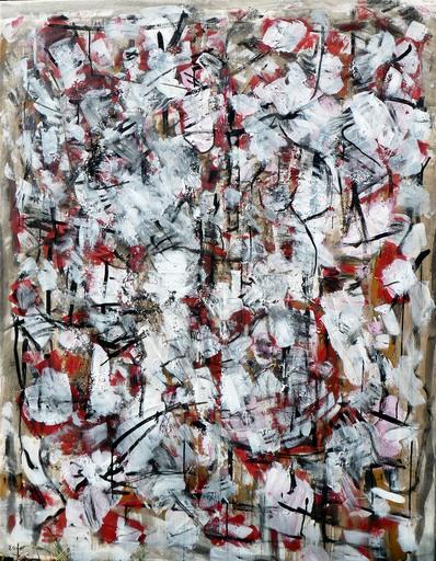 François GARROS - Painting - Grande lutte chinoise 1