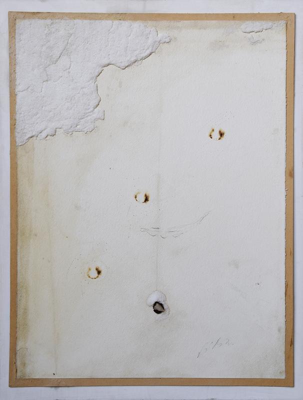 Pier Paolo CALZOLARI - Gemälde - Senza titolo