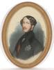 """Henri GREVEDON - Drawing-Watercolor - """"Ferdinand Philippe, duc d'Orleans"""", important portrait!"""