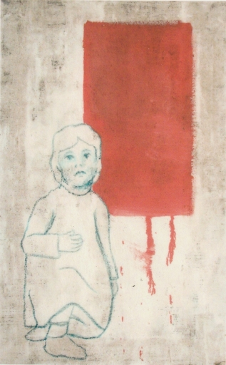 Valerio BERRUTI - Gemälde - MADDALENA