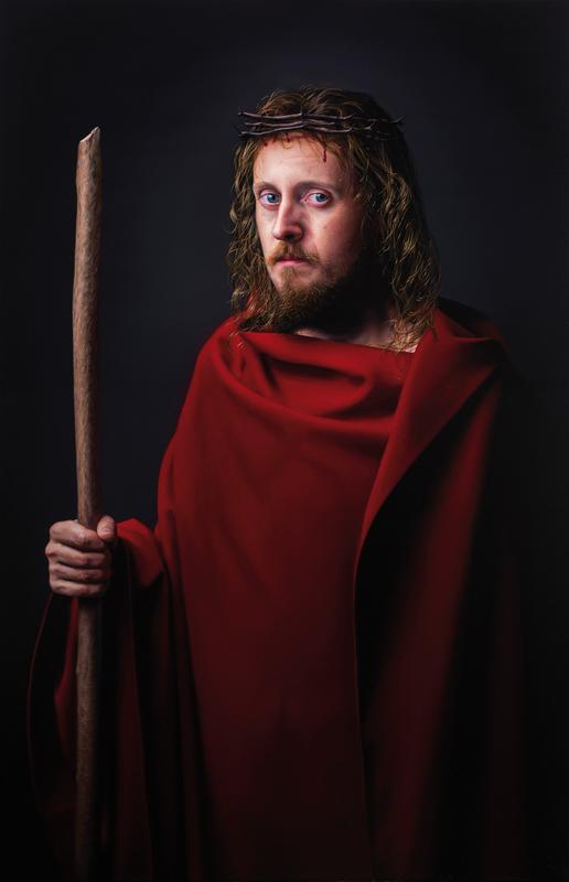 Javier ARIZABALO GARCIA - Painting - Jesús