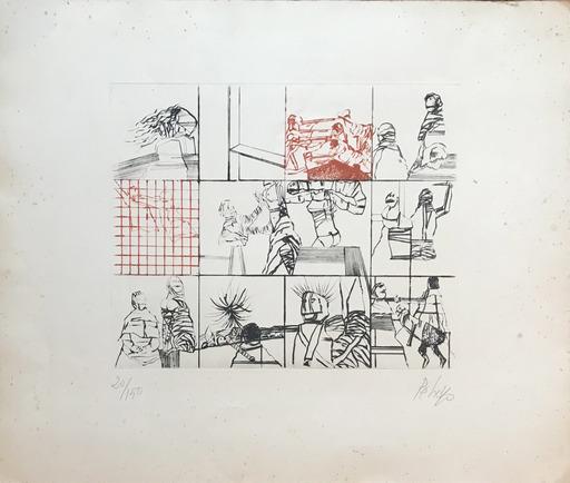 Orlando PELAYO ENTRIALGO - Print-Multiple - Composition