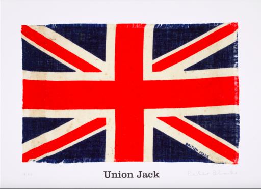 Peter BLAKE - Grabado - Union Jack