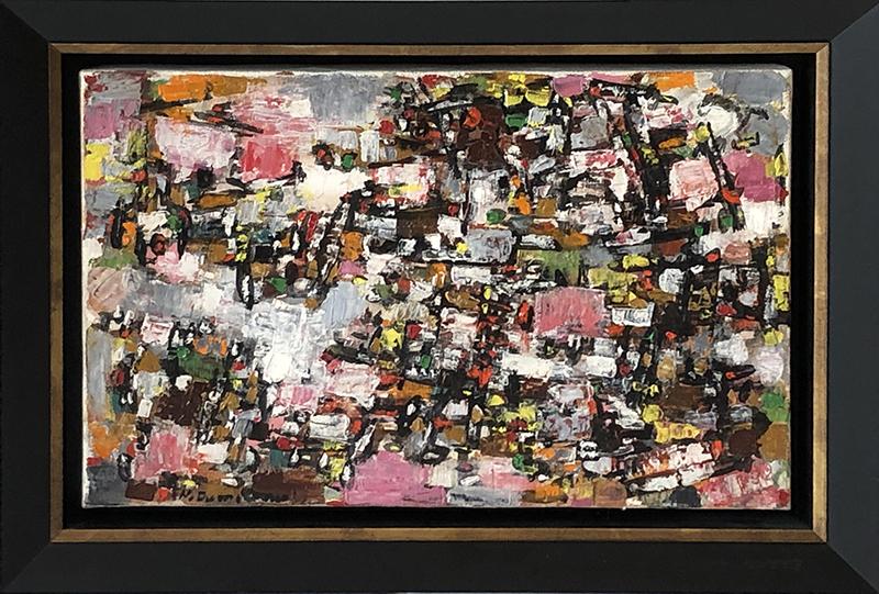 Natalia DUMITRESCO - Peinture - Composition 1955