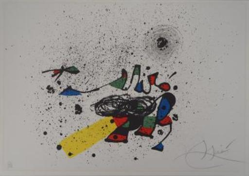 Joan MIRO - Estampe-Multiple - Composition