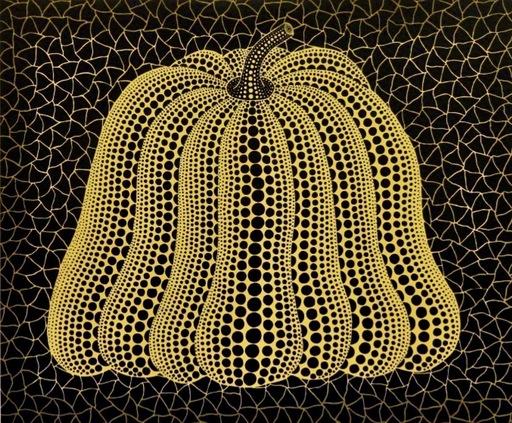 Yayoi KUSAMA - Grabado - Pumpkin MY