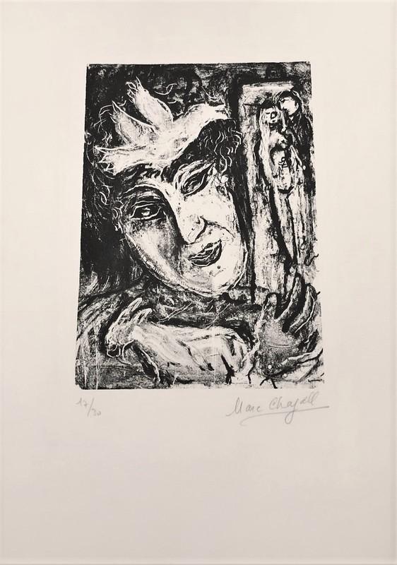 Marc CHAGALL - Print-Multiple - The Artists Bird