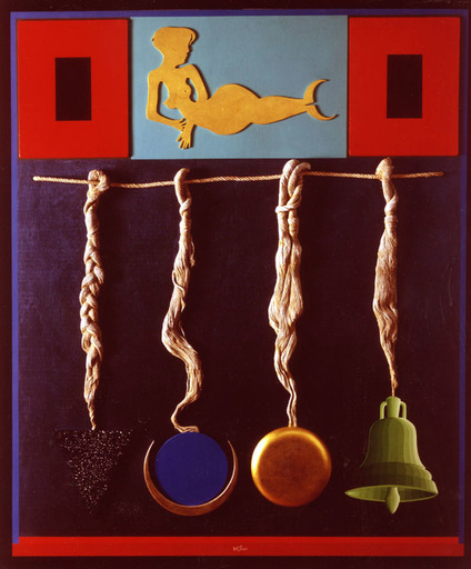 Lucio DEL PEZZO - Painting - BERENICE